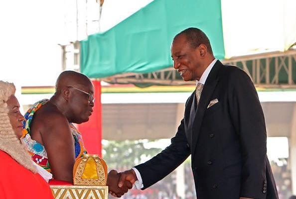 Le président du Ghana attendu à Conakry ce jeudi ( communiqué )