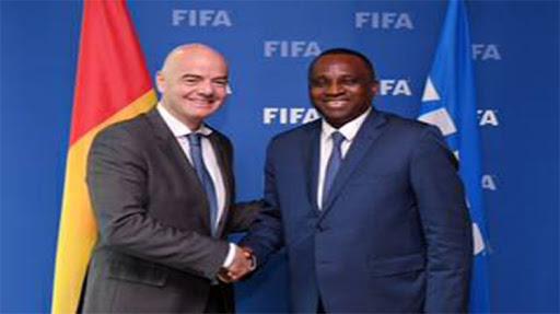 Sacre du Horoya: le patron de la Fifa félicite le propriétaire du club et espère le rencontrer très prochainement ( lettre )