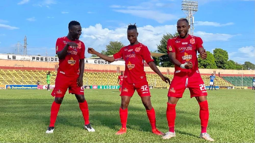 Ligue 1 Salam: face aux militaires de l' ASFAG, le Horoya AC a fait feu ( 6 - 1 )