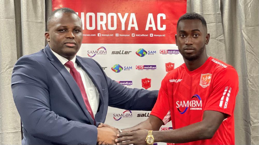 L'attaquant Sénégalais, Pape Abdou Diouf, rejoint le Horoya AC