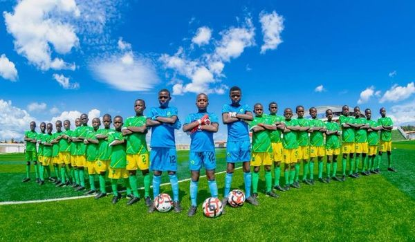 C'est parti pour la formation de 27 jeunes joueurs à l' Académie KPC de Khorira ( Dubréka )