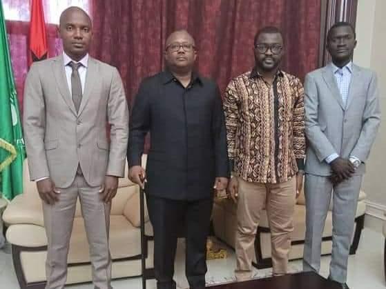 Des poids lourds du FNDC chez le président de Guinée Bissau, Emballo Sissoko ( Communiqué )