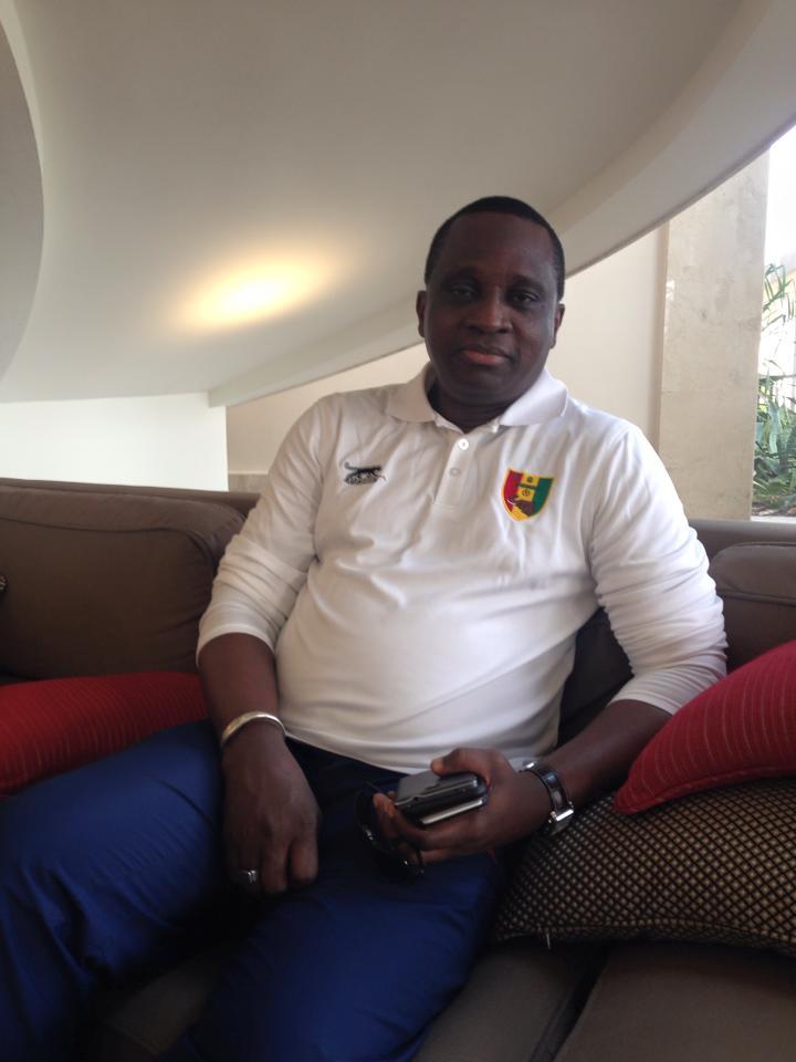 Antonio Souaré, président du Horoya AC - les ambitions d'un noble mécène