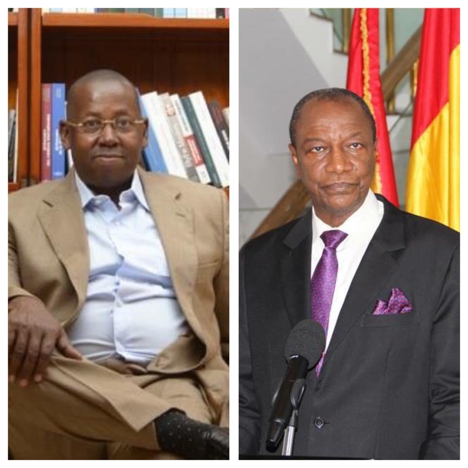 Dakar: Alpha Condé aurait accepté de faire agréer le parti de Diallo Sadakaadji à condition ...