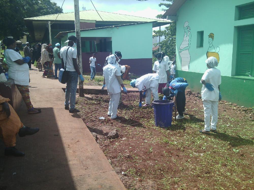 L'hôpital Régional de Mamou assaini