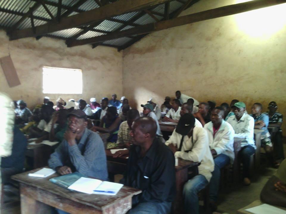 Mamou : la NDI forme les délégués des bureaux de vote pour l'élection du 11 octobre.