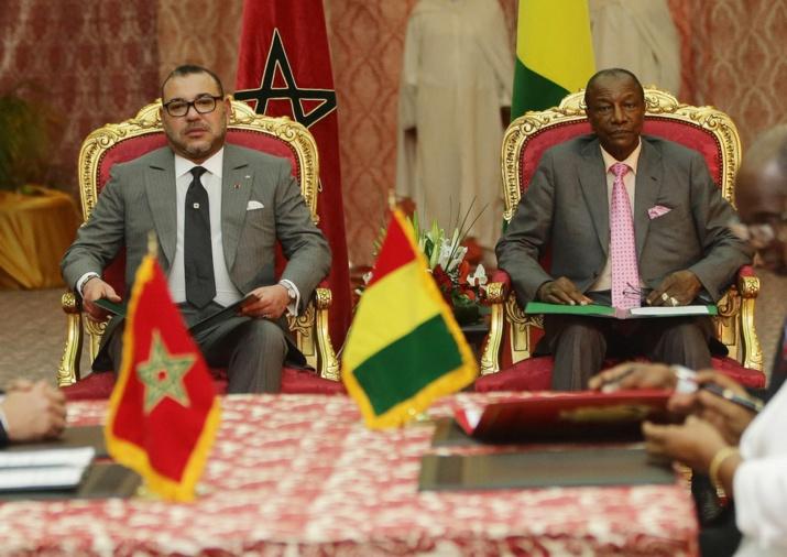 Mohamed 6 félicite Alpha Condé pour sa réélection le 11 octobre dernier