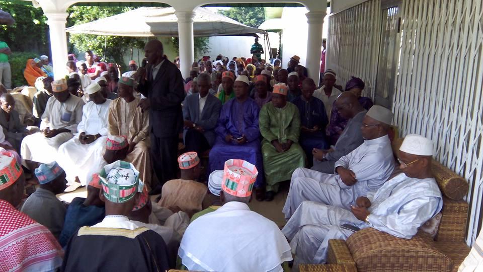 Des militants de Ratoma et Mali chez Cellou Dalein Diallo