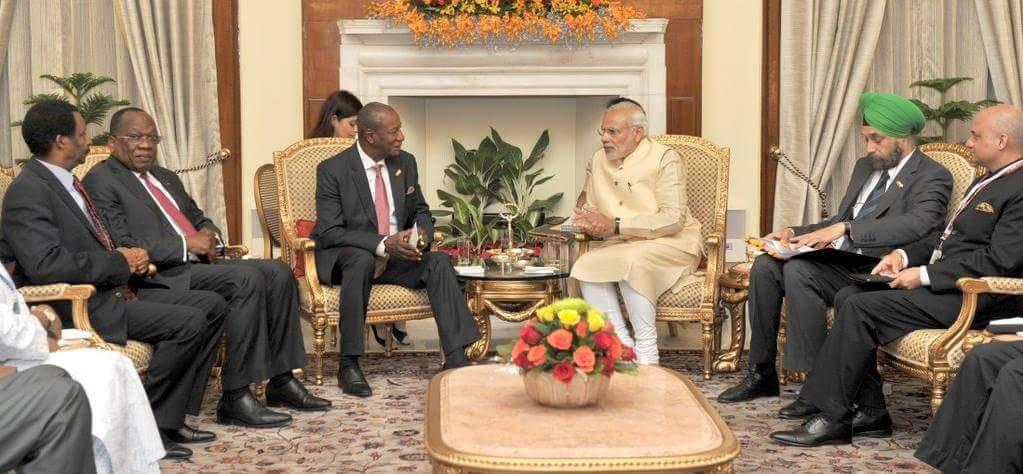 La Guinée et l' Inde signent deux accords dans les domaines agricole et sanitaire