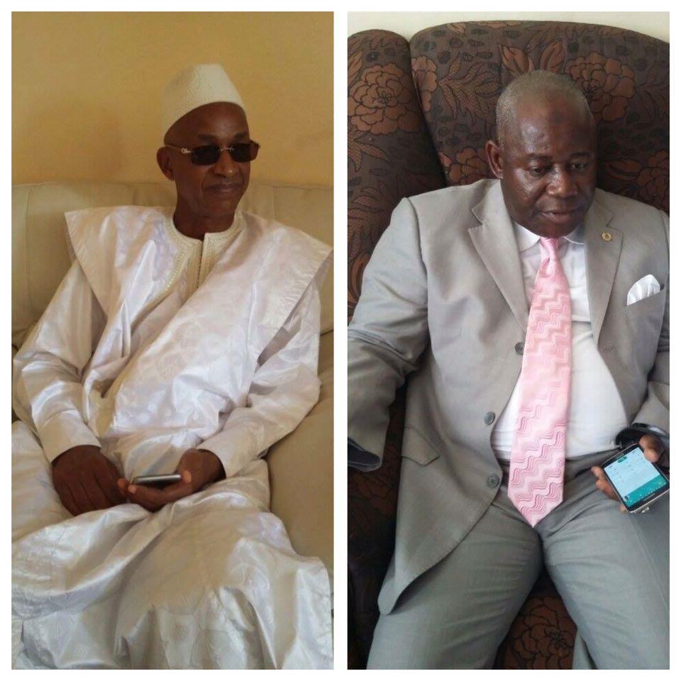 Quand Cellou Dalein et Bô Kéïta se boudent à Dakar