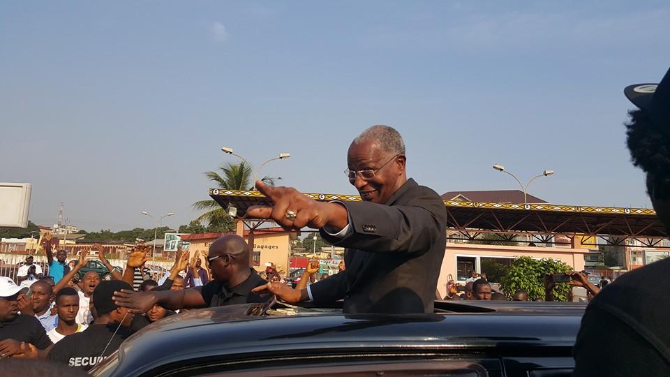 Bah Oury rend visite à  Sidya Touré !