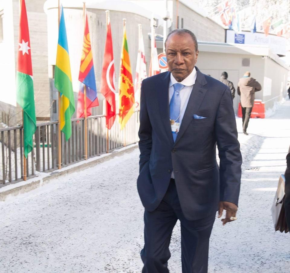 Condé appelle l'ONU à protéger les casques bleus Guinéens au Mali