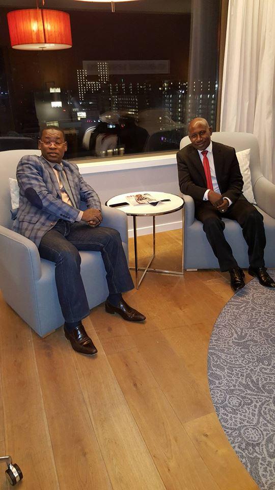 Papa Koly et Makanera sont arrivés à Rotterdam