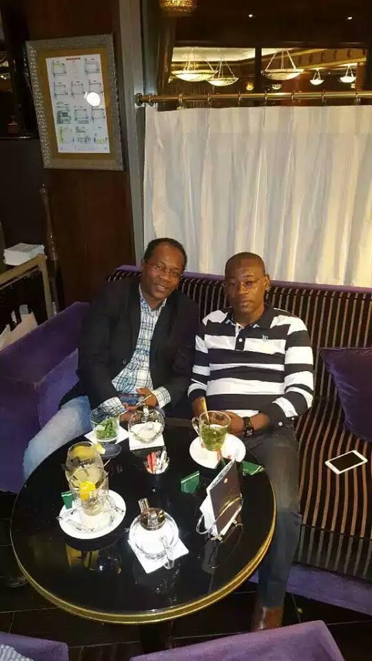 Paris: les dessous de la rencontre entre Papa Koly et Ousmane Gaoual Diallo