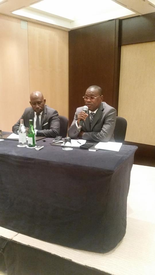Génève: Papa Koly et Makanera séduisent des compatriotes et taclent Alpha Condé
