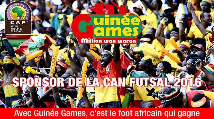 Avec Guinée Games, c'est le foot africain qui gagne