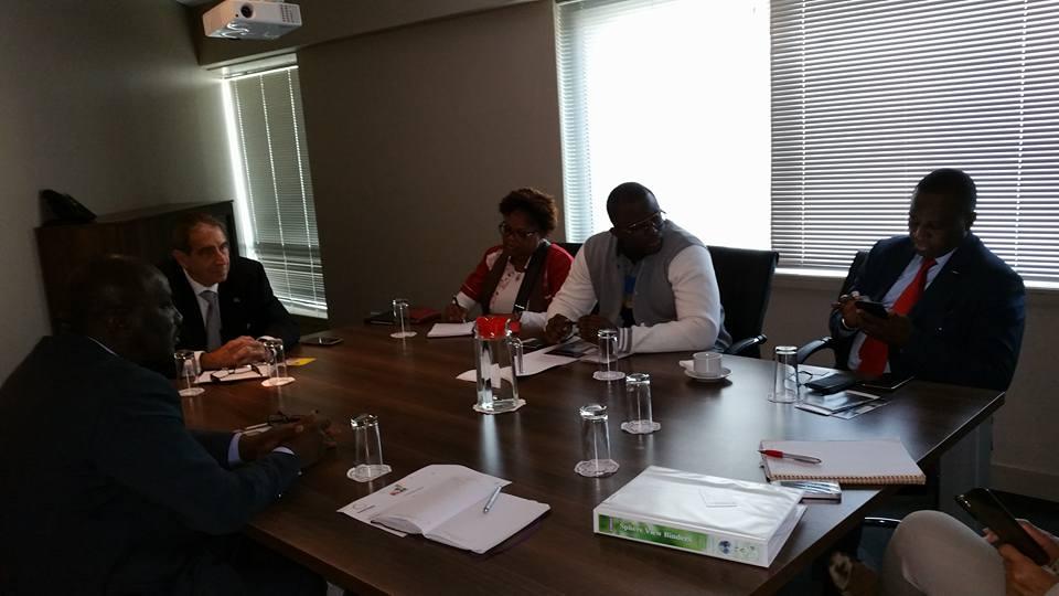 Afrique du Sud: après le foot, les affaires pour Antonio Souaré