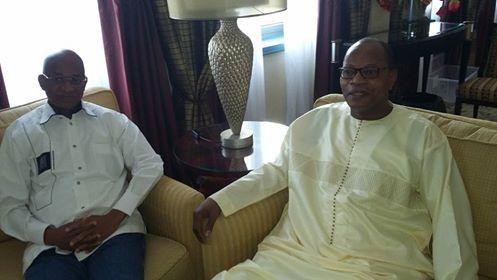 Dakar: Cellou Dalein et Ibn Chambass passent soixante minutes de huis-clos