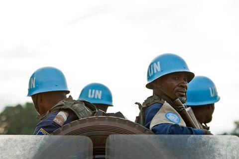Douze policiers guinéens de la MINUSCA décorés