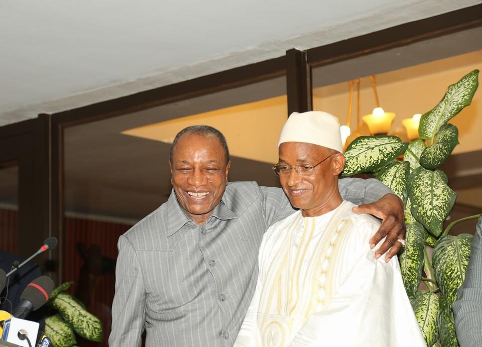 Le Président Alpha Condé reçoit le chef de file de l'opposition