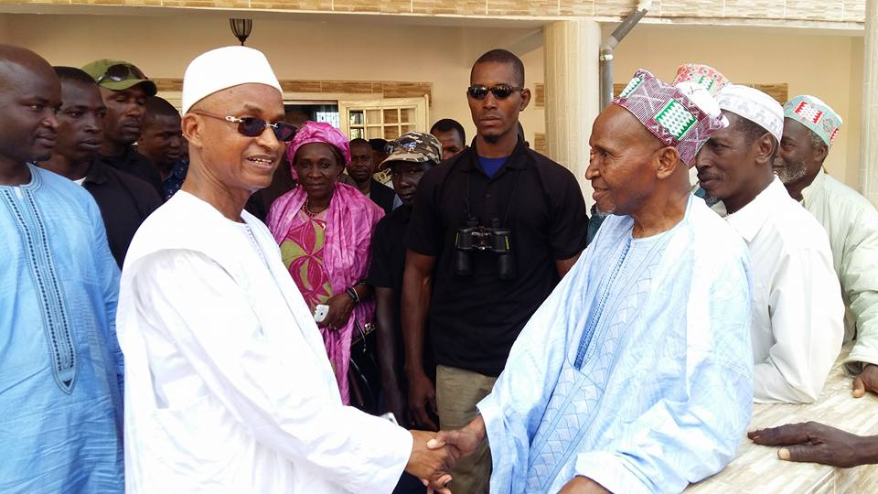 Mamou: Quand Boubakar Biro fait des bénédictions pour Cellou Dalein Diallo