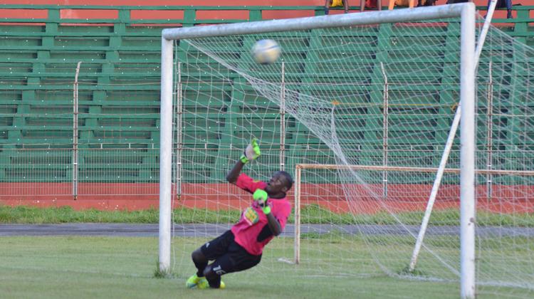 Khadim N'Diaye envoie le Horoya AC en demi finale de la Coupe Nationale Guinée Games