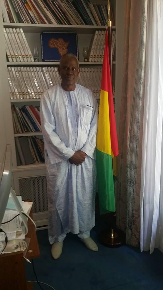 Paris: l'an 58 de l'indépendance de la Guinée célébrée en différé sous la houlette de l'ambassadeur Amara Camara