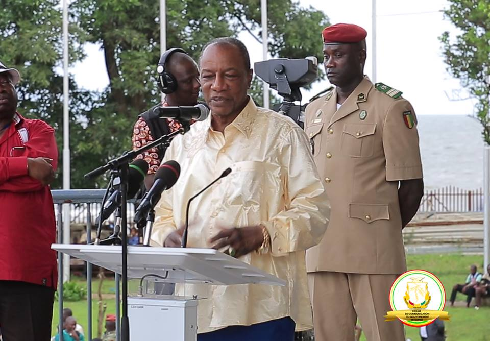 Alpha Condé sur l'incivisme en Guinée : « le mauvais exemple vient d'en haut »
