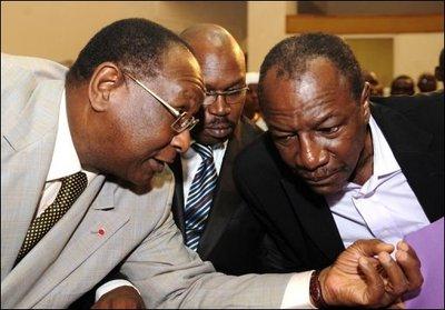 Comment Lansana Kouyaté a-t-il connu Alpha Condé ?