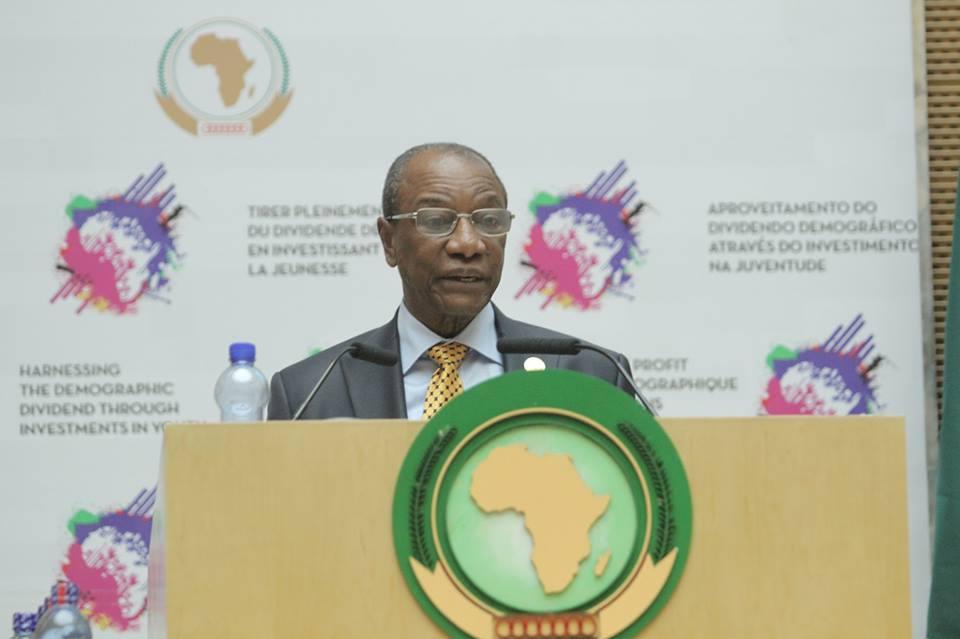 28 eme Sommet de l'Union Africaine: Alpha Condé pour l'Histoire