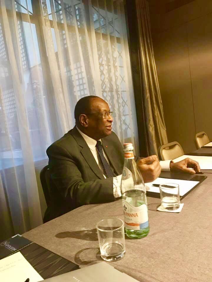 Paris: Lansana Kouyaté rencontre le Bureau Fédéral  du PEDN