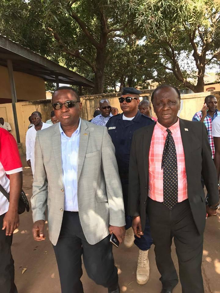 Décès de l'ancien footballeur Momoh Wandel: les condoléances du Président Antonio Souaré