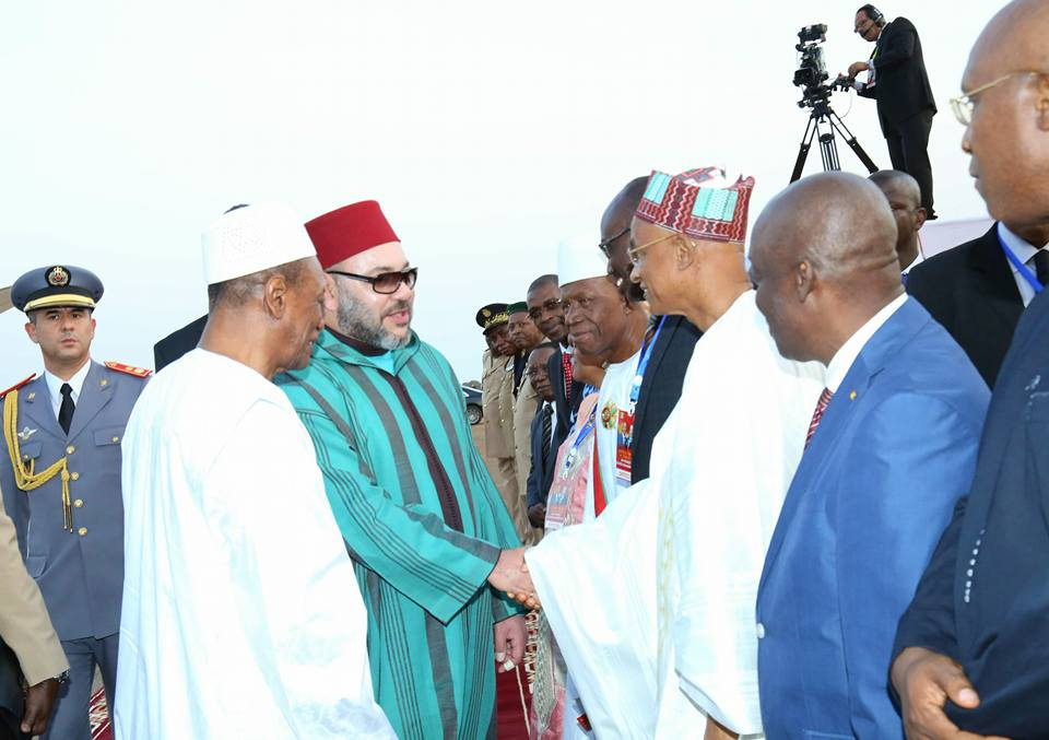 Visite de Mohamed VI à Conakry: Cellou Dalein Diallo était bel et bien à l'aéroport