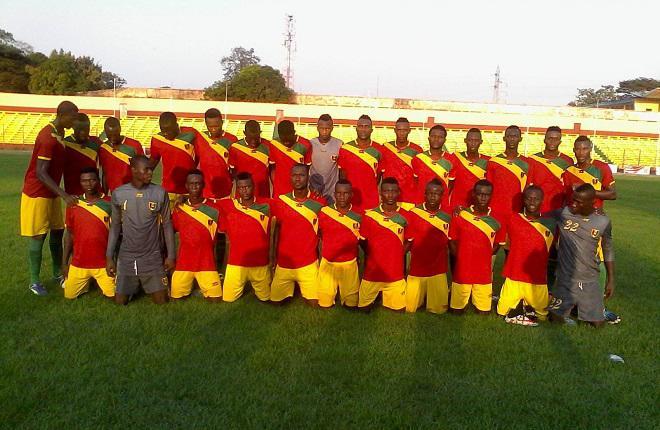 CAN U20: le Syli Junior tient tête aux Pharaons d' Egypte