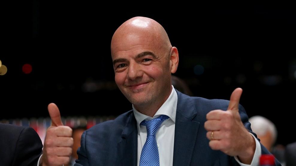 Congrès FEGUIFOOT: le président de la FIFA adresse ses vives félicitations à Antonio Souaré