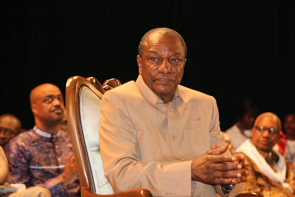 Fête du 08 mars: le président Condé communie avec les femmes Guinéennes