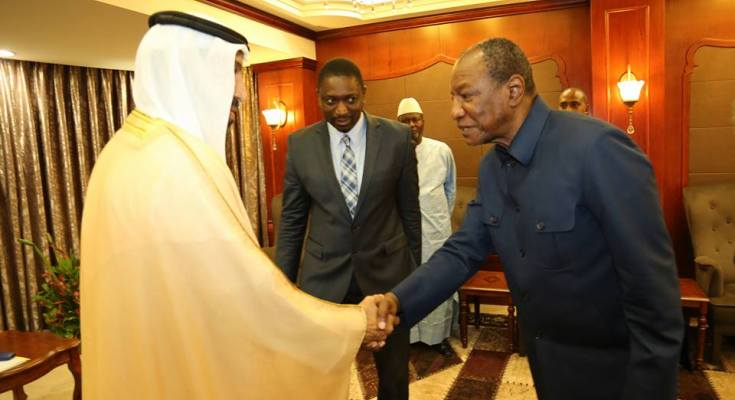 Coopération: Un émissaire du Président des Emirats à Sékhoutouréya
