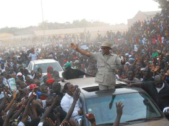 Labé : Cellou Dalein Diallo promet à ses militants qu'il va remplacer Alpha Condé en 2015