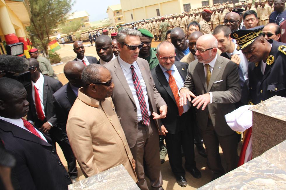 Sécurité: Le Président Condé préside la sortie de 304 agents de police
