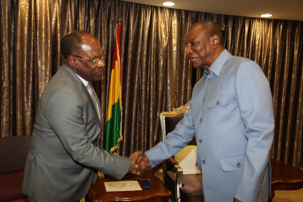 Le vice-Premier ministre de la RDC reçu à Sékhoutouréya