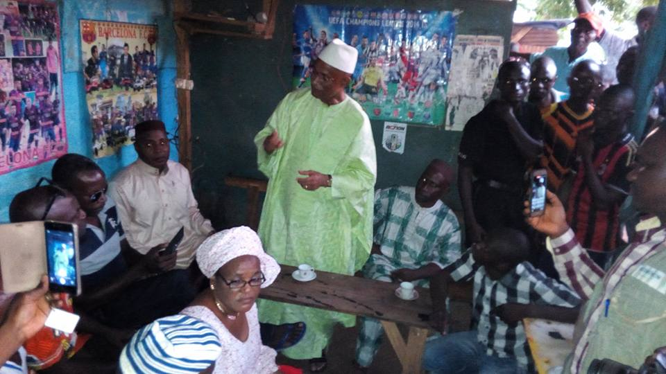 Ce message de Cellou Dalein Diallo aux jeunes, femmes et sages de Kissidougou