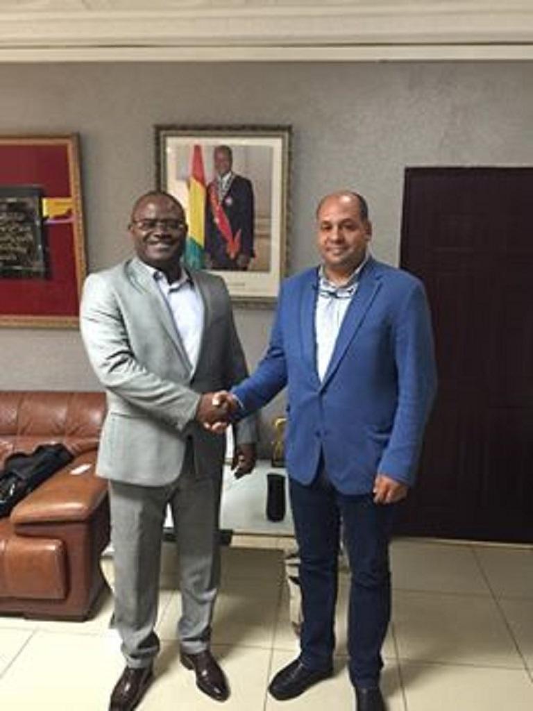 Bientôt du gazon synthétique pour douze stades guinéens