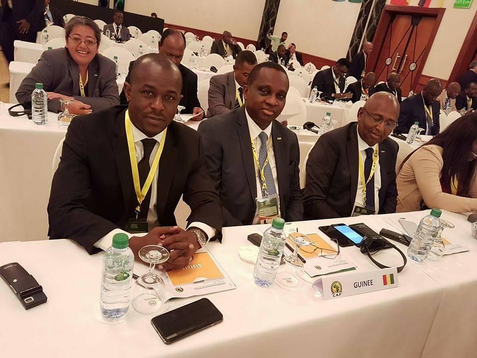 Le président de la FEGUIFOOT, Antonio Souaré, à Bahreïn pour l'Assemblée Générale de la FIFA