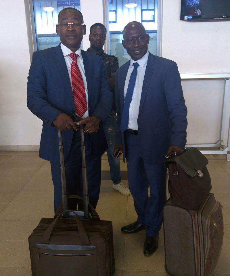 Papa Koly  et Makanera rejoignent Cellou Dalein à Paris