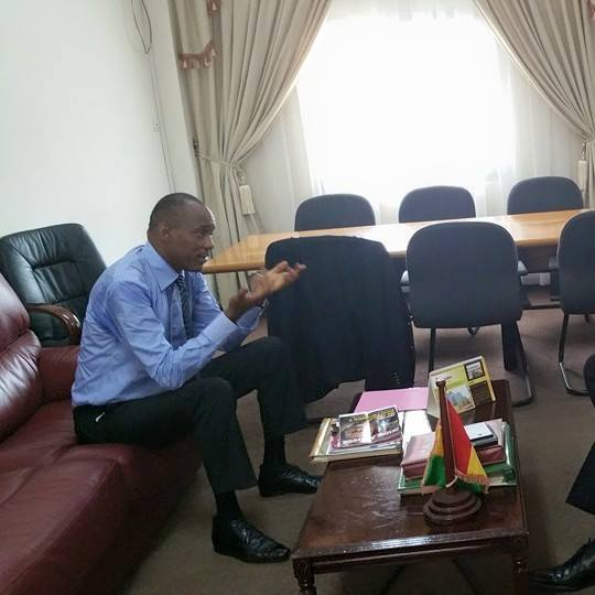 Le ministre Boubacar Barry dans une sale vidéo qui fait scandale à Conakry