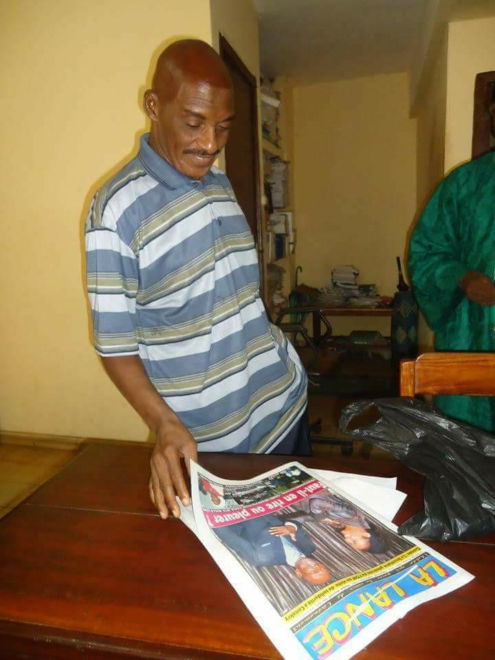 Le vibrant hommage de Soulay Thianguel à Hassan Abraham Kéïta