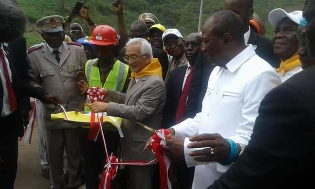 Le chef de l'Etat inaugure le pont de KAAKA