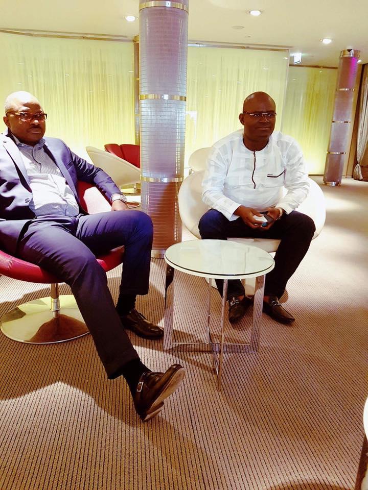 L'homme d'affaires KPC accompagne le président Condé au Japon