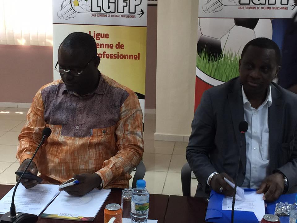 Première réunion extraordinaire du Bureau Exécutif de la Ligue Guinéenne de Football