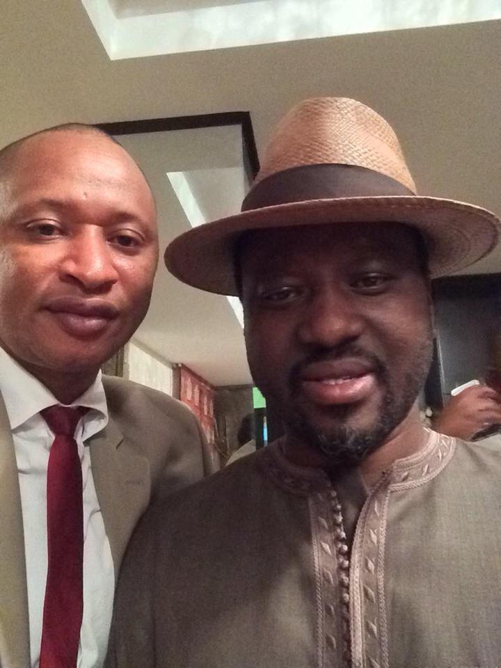 Le journaliste Ibrahima Diallo de nouveau chez Guillaume Soro à Abidjan